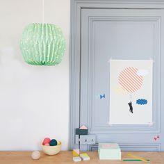 decoration chambre enfant - Lampion Origami - Mimi'lou