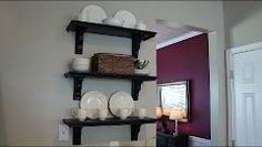 DIY cafe shelves!