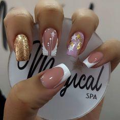 Pretty Nail Art, Nail Decorations, Short Nails, Cute Nails, Nail Art Designs, Spa, Hair Beauty, Forget, Instagram