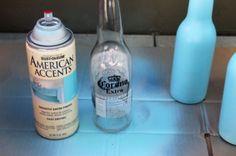 DIY Beer Bottle Bud Vases | Shelterness