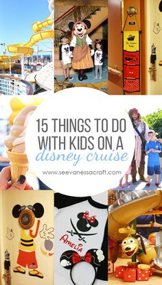 Travel: 15 Things to Do on a Disney Cruise With Kids - See Vanessa Craft Cruise Tips, Cruise Travel, Cruise Vacation, Disney Vacations, Disney Travel, Family Vacations, Disney Hotels, Family Road Trips, Italy Vacation