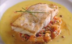 Sea Bass Muqueca (on Vegetable Mixture) by  Christophe Lidy