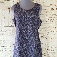 9d4901af5de1 Cassino Sun Dress Maxi Womens size Medium Sleeveless Purple Gray Floral  #Cassino #MaxiDress Purple