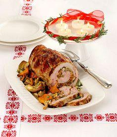Arrosto di vitello con finferli e carciofi Ecco un piatto decisamente invernale, gustoso ed economico