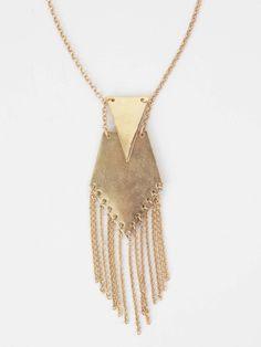Altar'd State Golden Arrow Necklace