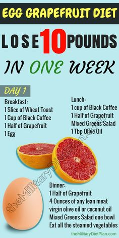 The 3 day egg and grapefruit diet is based on that the grapefruit is thermogenic and will help you lose weight faster. #diet #eggdiet #loseweightfast #lose10pounds #loseaquick10pounds