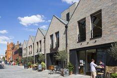 Residential Architecture, Architecture Design, Urban Village, Duplex Design, Public Space Design, Mews House, Brick Construction, Social Housing, Street House