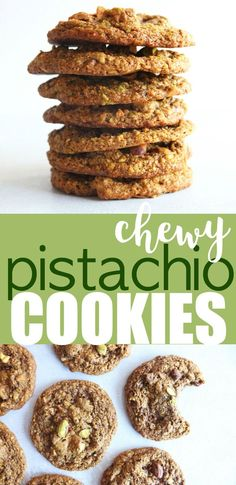 Pistachio Cookies - The Toasted Pine Nut