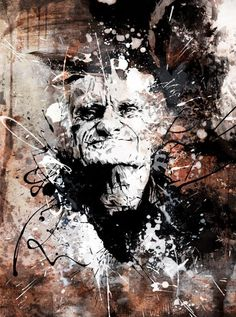 Mixed Media Portraits Bursting with Life - My Modern Met