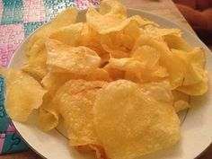 award winning Spanish potato chips with healthy Spanish olive oil and Himalayan pink salt - must try!