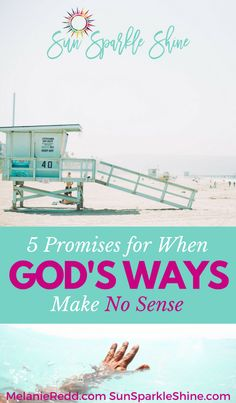 Confused about Life - When God makes no sense - Find hope in these promises - SunSparkleShine.com