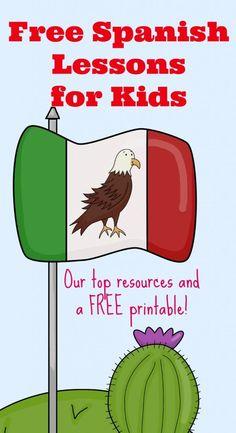 FREE spanish programs for homeschooled kids