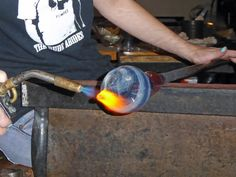 Take part in the glass blowing process at Rainier Glass Studio in Seattle