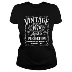 Vintage Made In 1979 Birthday Gift Idea T Shirt and Hoodie #gift #ideas #Popular #Everything #Videos #Shop #Animals #pets #Architecture #Art #Cars #motorcycles #Celebrities #DIY #crafts #Design #Education #Entertainment #Food #drink #Gardening #Geek #Hair #beauty #Health #fitness #History #Holidays #events #Home decor #Humor #Illustrations #posters #Kids #parenting #Men #Outdoors #Photography #Products #Quotes #Science #nature #Sports #Tattoos #Technology #Travel #Weddings #Women