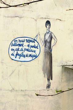 Rue meurt d'art - street art - Paris 10 - parc de l'église saint-laurent