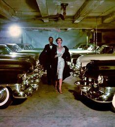 Fashion and Cars by John Rawlings, 1950s