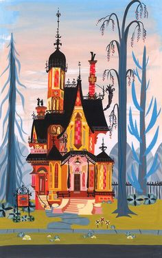 Fosters home for imaginary friends. I love the style and color. Reminds me of Mary Blair. Can I get a tattoo of this haha