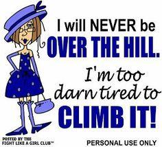 LOL! Chronic fatigue.....ugh!