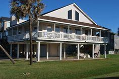 Avalon - 3 bedroom/2 baths - sleeps 12; Pirates Beach neighborhood, limited Gulf view; Sand 'N Properties - Galveston Island, TX