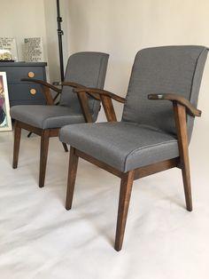 Para foteli 300-123, proj. M. Puchała z lat 70. - AxcDesign - Kanapy i fotele