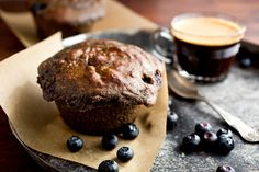 Gluten-Free Buckwheat, Poppy Seed and Blueberry Muffins — Recipes for Health