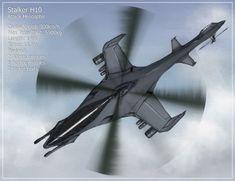 Stalker Attack Helicopter by Aerythes.deviantart.com on @deviantART