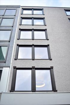 Back facade, Bleicherweg, Zurich, Peter Märkli