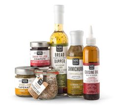 Wildly Delicious Fine Foods on Packaging of the World - Creative Package Design Gallery (Sauce Bottle Packaging) Packaging Snack, Spices Packaging, Cool Packaging, Food Packaging Design, Beverage Packaging, Bottle Packaging, Packaging Design Inspiration, Brand Packaging, Packaging Dielines