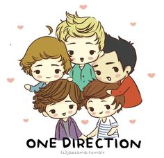 One Direction Cartoons ♥
