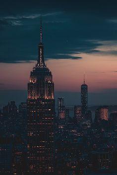 thelavishsociety: New York Night by Nima Zadrafi | LVSH