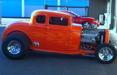 Blown Big Block Chevy in a 32 Ford 5 Window Hi Boy JR  Hot Rod that's Moon Equipped