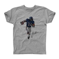 Walter Payton Signature Chicago Officially Licensed Toddler and Youth T-Shirts 2-12 Years