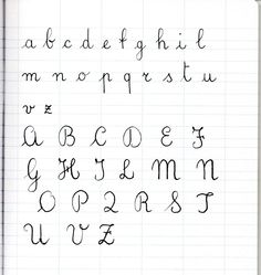 Worksheets French Handwriting Alphabet french school and scripts on pinterest italian cursive