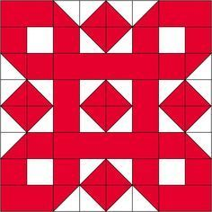 Block 22 for the 2017 Christmas Countdown. Barn Quilt Patterns, Pattern Blocks, Christmas Blocks, Christmas Quilting, Two Color Quilts, Sampler Quilts, Barn Quilts, Christmas Countdown, Quilt Tutorials