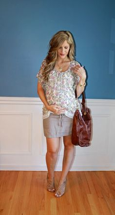 Outfitted411: August 2014 maternity fashion