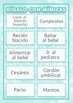 Loteria De Baby Shower Lista Para Imprimir Imagui Descargarlos
