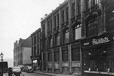Burton's, Broad Marsh, Nottingham, c 1940s  Demolished when Broadmarsh Shopping Centre was built in 1973.