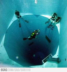 Nemo 33: The worlds deepest swimming pool