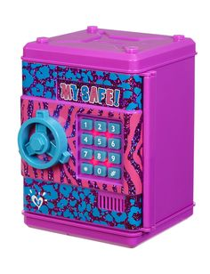 Animal Print Pushcode Safe | Organization | Room Decor | Shop Justice