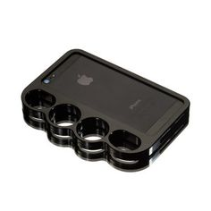 Knucklecase iPhone 5/5S Black, $85, now featured on Fab.