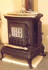 parlor stove with nickel trim more buy stoves stoves products