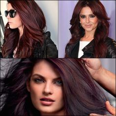 Inspirational Hair Color: Like Cherry Coke