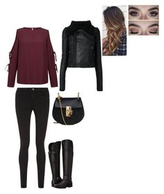 Untitled #35 by fionacoyne100 on Polyvore featuring polyvore, fashion, style, Rick Owens, Frame, Naturalizer, Chloé and clothing