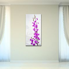 @Overstock - Bruce Bain 'Purple Orchid' Canvas Wall Art - Artist: Bruce BainTitle: Purple OrchidProduct type: Gallery-wrapped Canvas  http://www.overstock.com/Home-Garden/Bruce-Bain-Purple-Orchid-Canvas-Wall-Art/9134633/product.html?CID=214117 $92.10