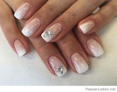simple-ombre-nails-with-diamonds