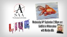SAA LIVE - Loose Watercolour with Marilyn Allis