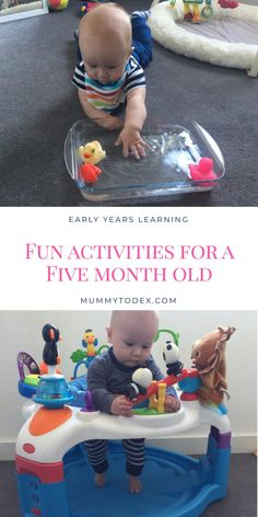 Baby Sensory Play, Baby Play, Fun Baby, Infant Activities, Fun Activities, Fun Games, 8 Month Old Baby Activities, Diy Toys For 5 Month Old, 6 Month Baby Games