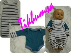 Baby Born, Handicraft Ideas, Onesies, Crafts For Kids, Dolls, Clothes, Crafts For Children, Baby Dolls, Outfits