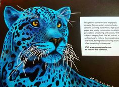 Back Page Jaguar Blu By Wendy Perry