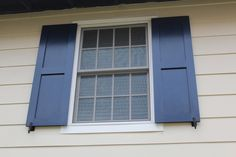 blog post on making shutters